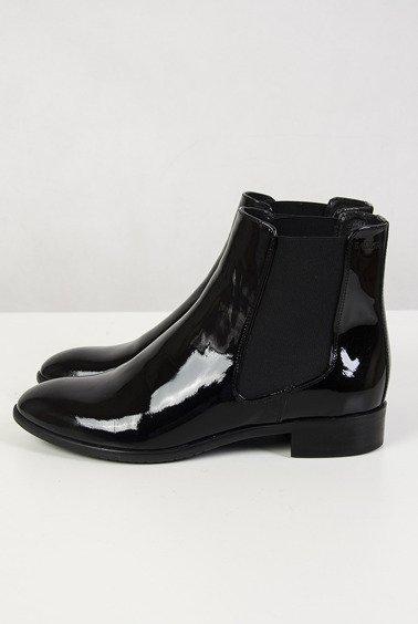 1e72ff91e006 Badura lakierowane czarne sztyblety