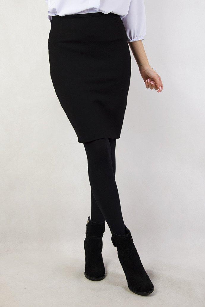 Niewiarygodnie Czarna ołówkowa spódnica | NOWOŚCI KOLEKCJA \ Spódnice - Olika PJ83