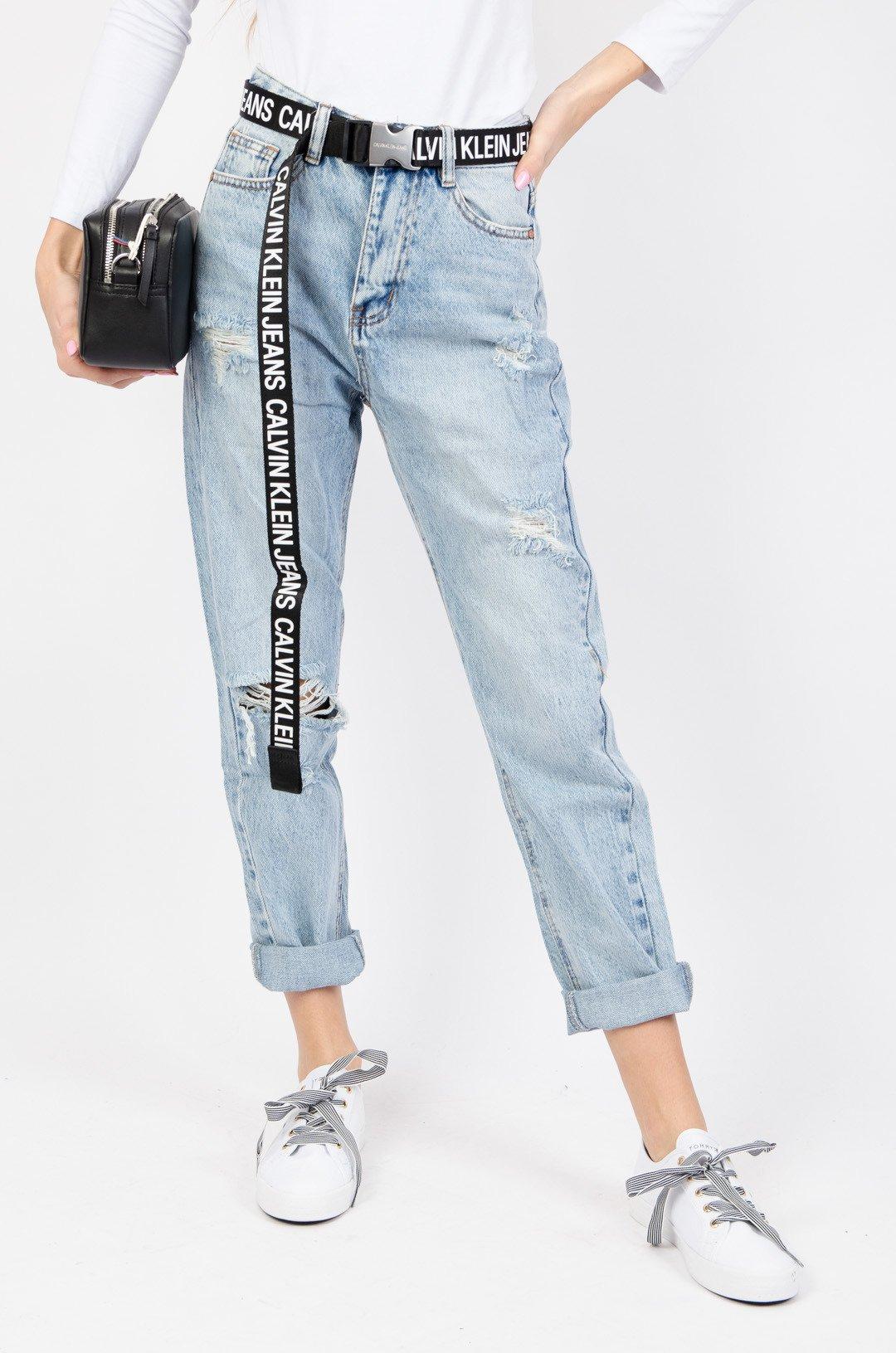 spodnie jeansowe mom fit boyfriend