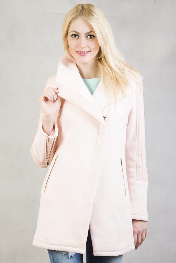 2caeff3af403 Różowy płaszcz