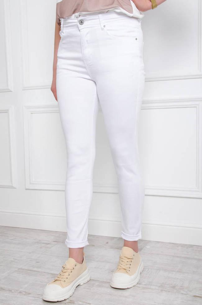 b942b4f47a7c (DUŻE ROZMIARY M-XXXXL) Białe spodnie z wysokim stanem