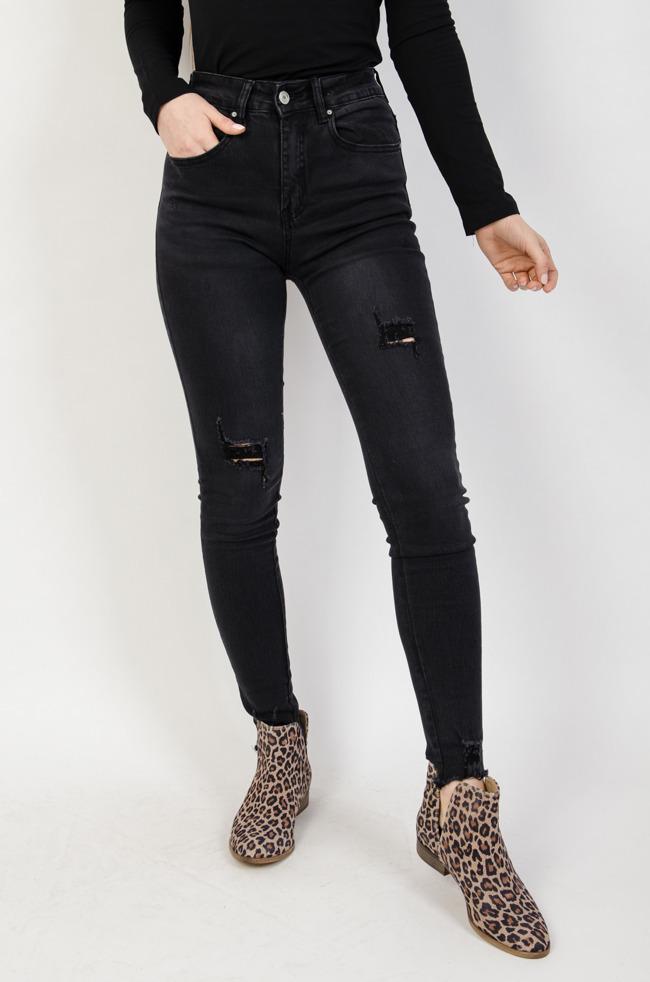bca0f35e Spodnie jeansowe damskie: z dziurami, przetarciami, z wysokim stanem ...