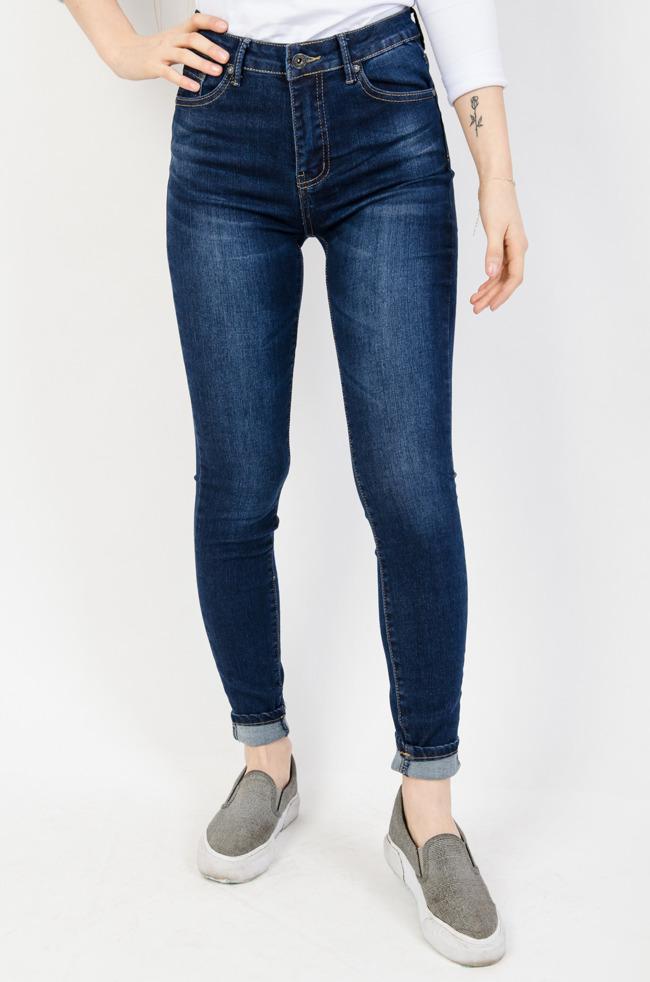 9e4f9d21 Spodnie damskie z wysokim stanem, tanie: czarne, jeansy, rurki ...