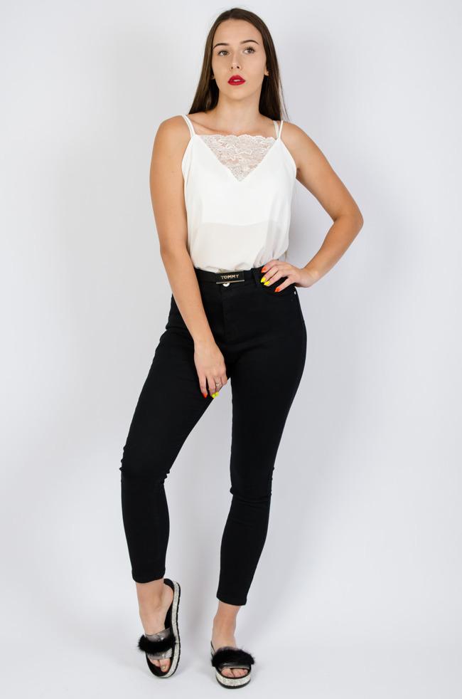 aee658dc784e6a Spodnie Plus Size, XXL, damskie rurki duże rozmiary, wysoki stan - Olika