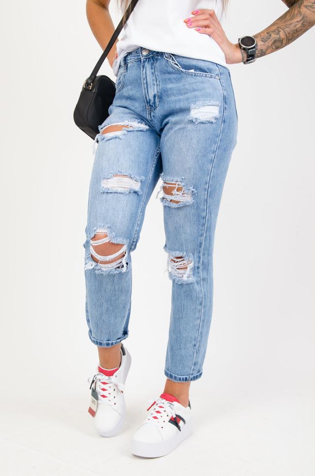 af57b5201286e1 Spodnie damskie z wysokim stanem, tanie: czarne, jeansy, rurki - Olika