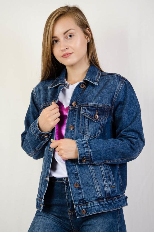 5f0533bca00c9 Kurtki jeansowe damskie - Olika