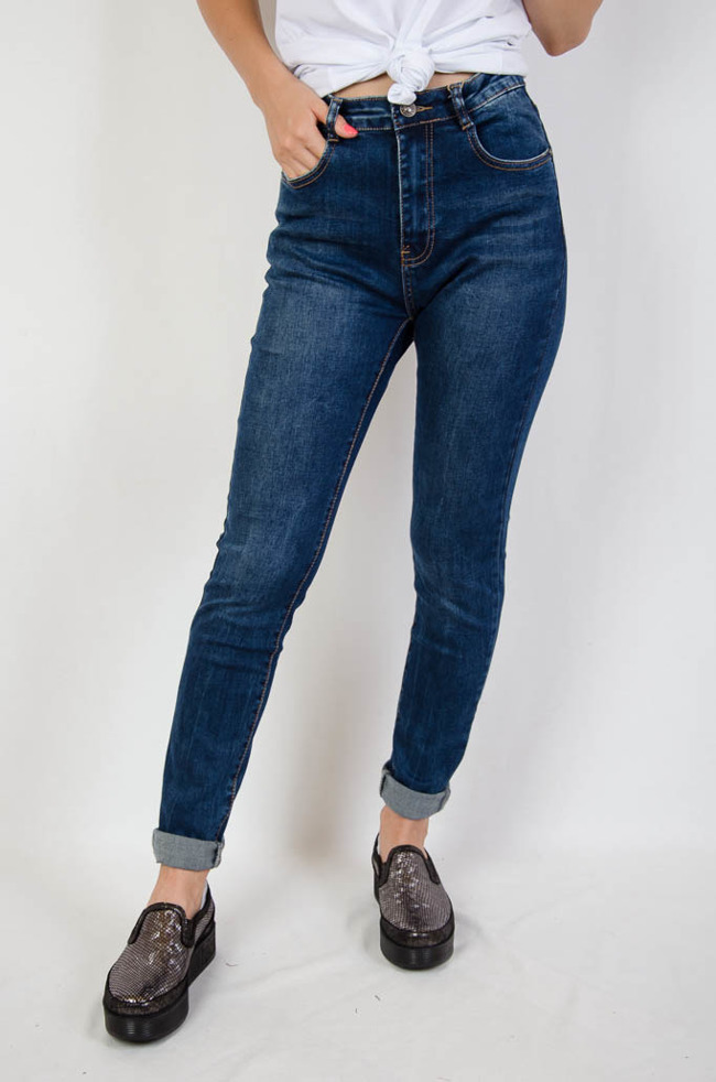 0615b0ff541f Spodnie jeansowe bez przetarć duże rozmiary (L- 4 XL)