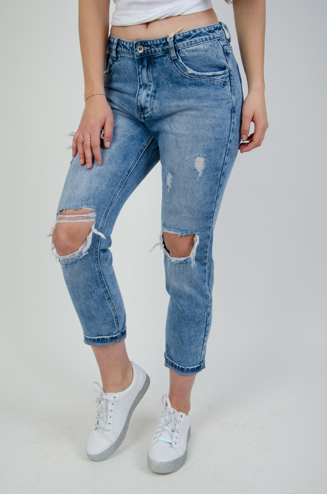 d4fe2e5e Spodnie damskie z wysokim stanem, tanie: czarne, jeansy, rurki ...