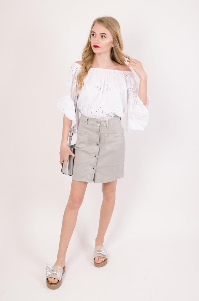 fb80a2f8 Tanie spódnice, spódniczki przylegające, na gumkę - Olika