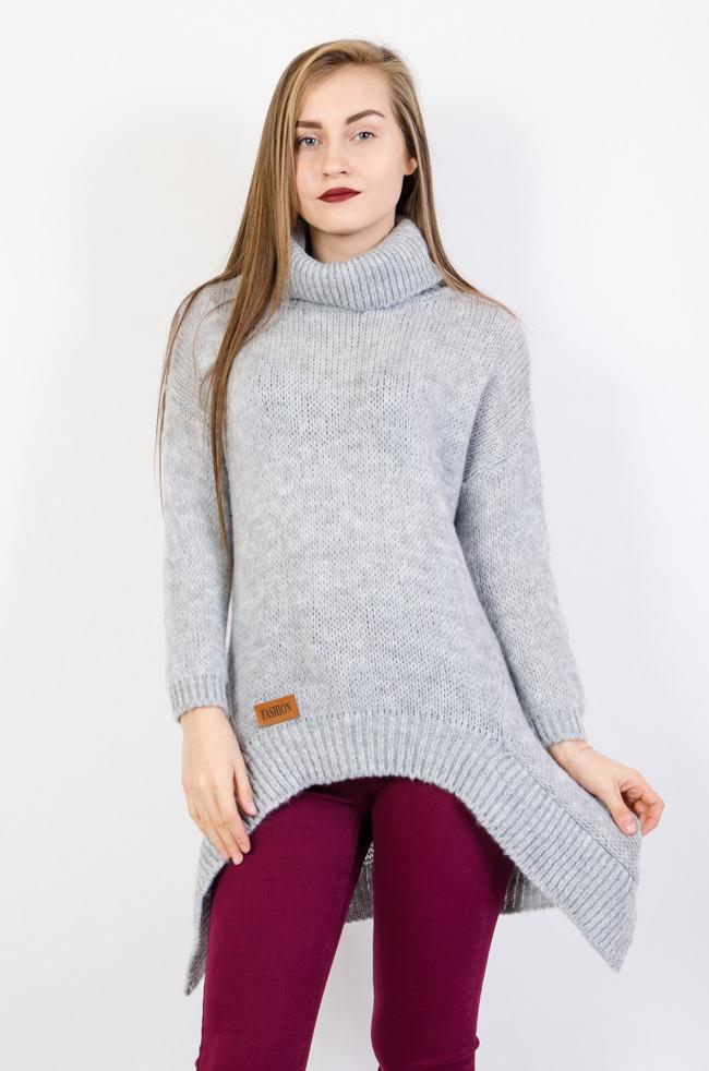 b3ef82bf3a1b3a Swetry damskie tanie, długie, asymetryczne, kardigan - Olika